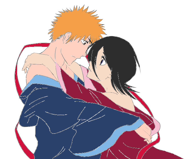 ichigo and rukia kiss - photo #20
