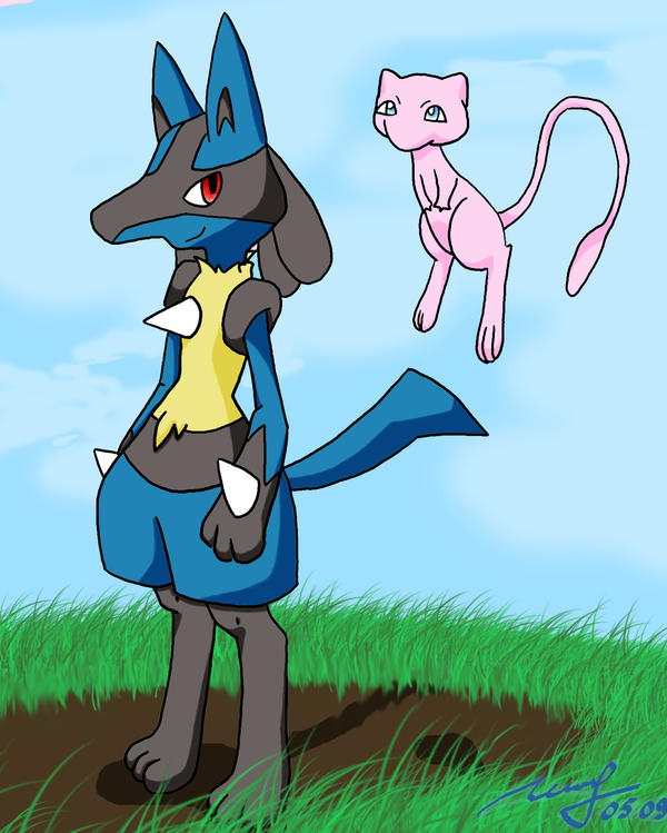 Pokemon Lucario And Charizard Images | Pokemon Images Mew And Lucario
