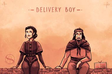 SH E3: Delivery boy by SachiiA