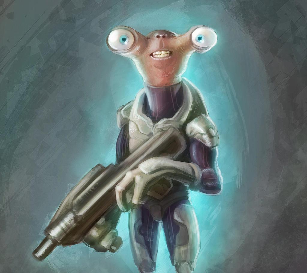 Alien Soldier - I don ...