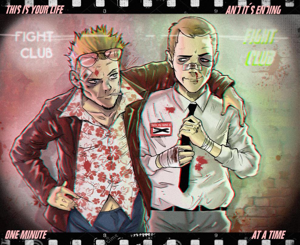 the FIGHT CLUB by MrParanoidXXX