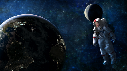Mia Li in space