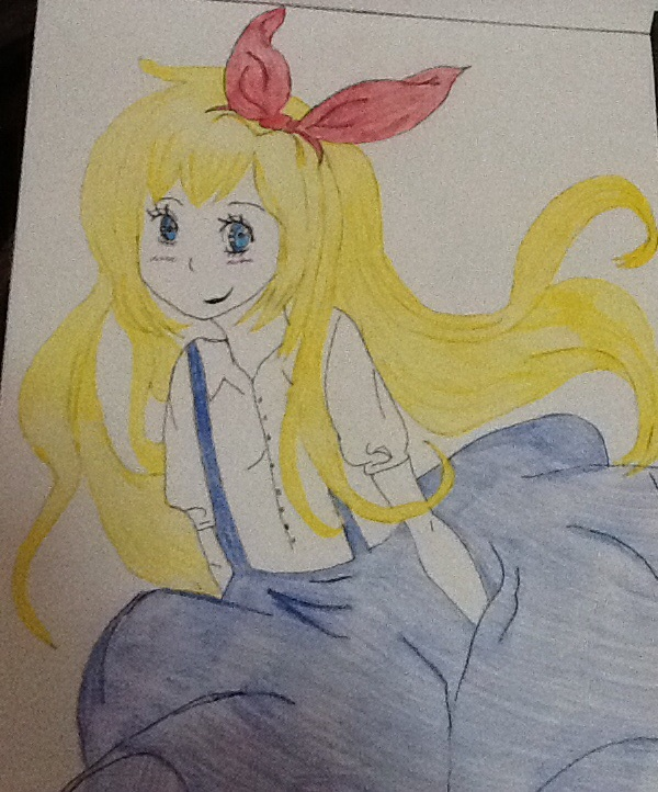 Chitoge as Alice in Wonderland by 512Lilirose