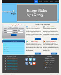 Landing WebPage Template by designerweb