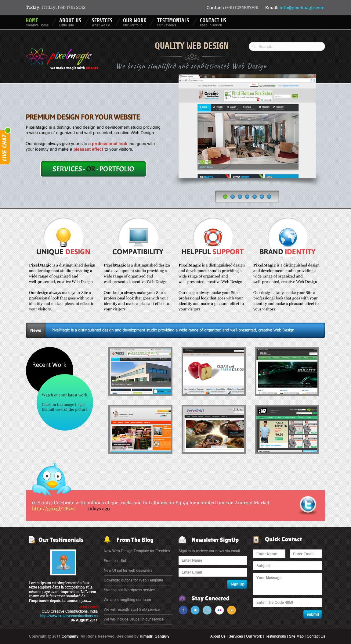 PixelMagic by designerweb