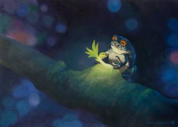Ribbit - The spirit of spring by LukasDamgaard