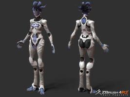 SpaceGal_Final2 by Ikameka