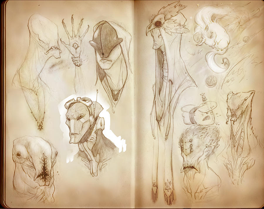 Sketchbook_Unicorn by Ikameka