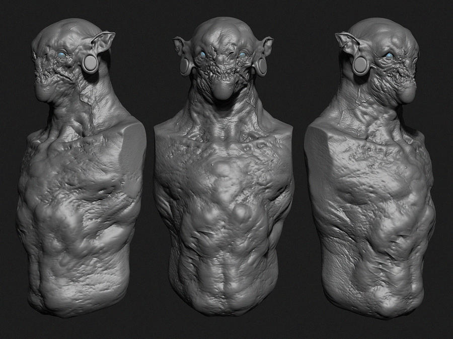 Goblin by ikameka on deviantart for Createur 3d