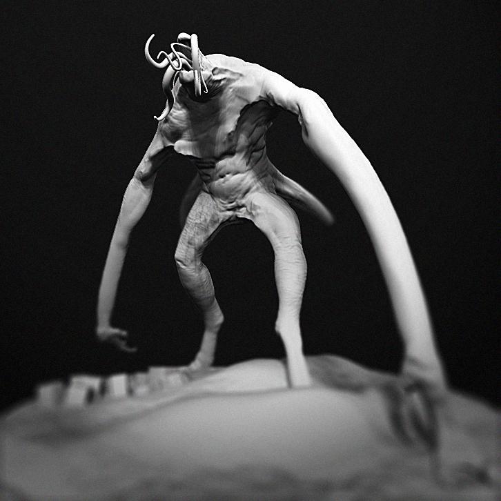 Kaiju Maquettes Cover3 by Ikameka