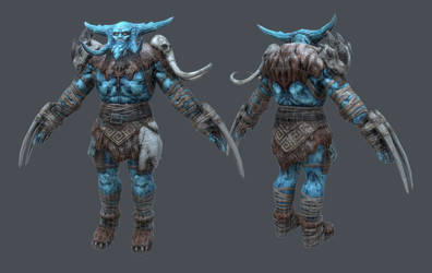 Ice Giant wireframe