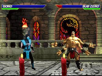 Goro for MK: Devastation