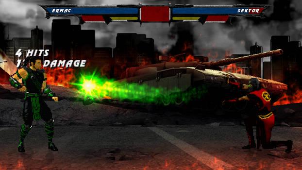 Sektor in Mortal Kombat: Devastation
