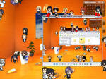 My 3d Desktop and My Desktop Buddies by garciajeffreyv