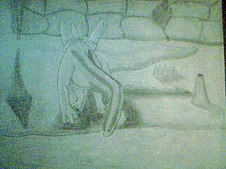 The Cave Wyvern by SerisNovis