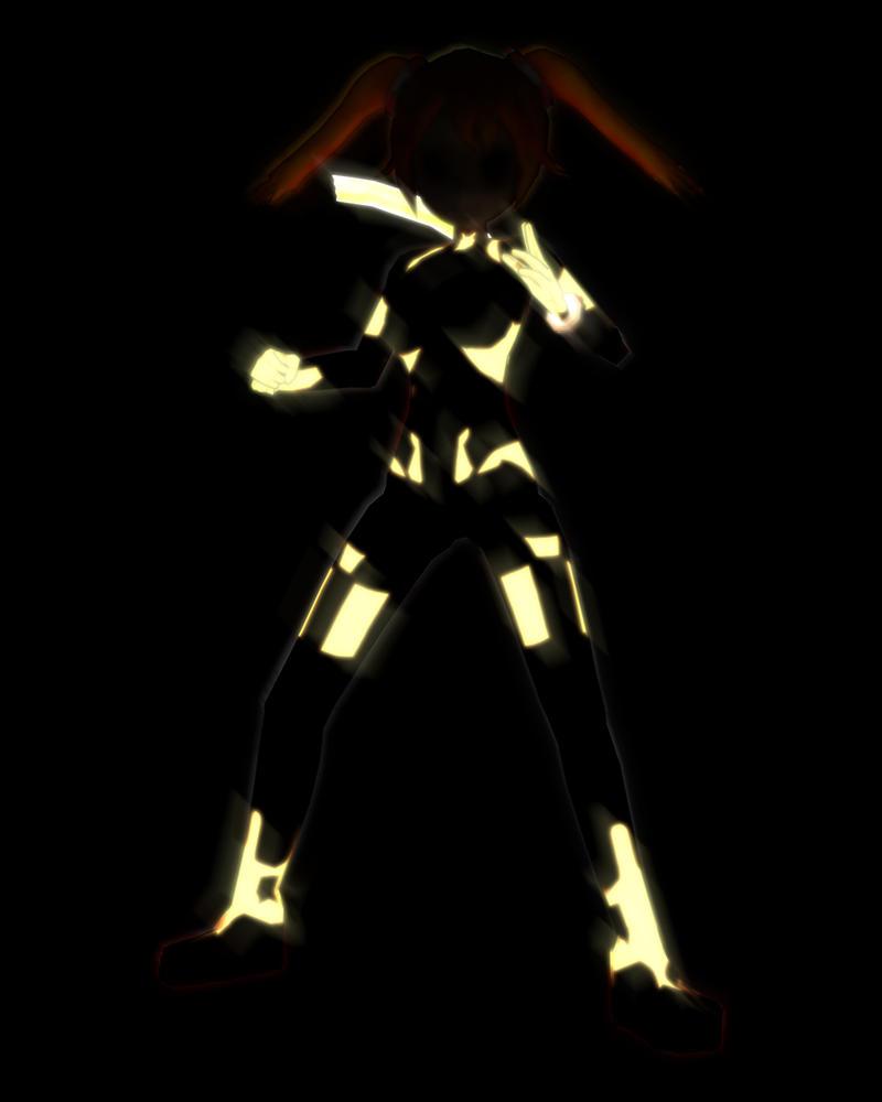Haruka Light Shot by renixis00