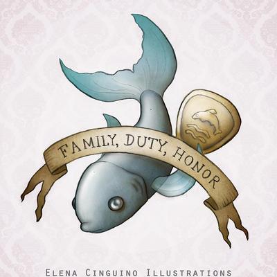 House Tully by OctopusMeatball