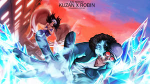 Aokiji X Robin Commission