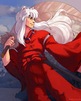 Commission: Inuyasha by nayuun