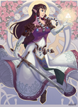 Princess Zelda Art Nouveau