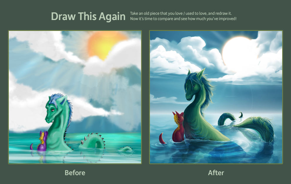 Draw this Again contest by Kerpow