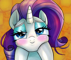 Rarity Pin by mywatercolorheart