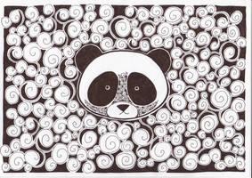 panda, by pandakaru