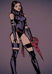 Psylocke by celor