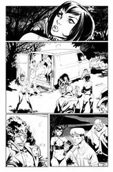 Hack/Slash vs. Chaos! #2 page 7 by celor