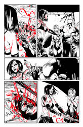 Hack/Slash vs. Chaos! #3 page 3 by celor