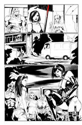 Hack/Slash vs. Chaos! #3 page 4 by celor