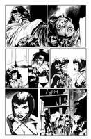 Hack/Slash vs. Chaos! #3 page 5 by celor