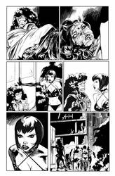 Hack/Slash vs. Chaos! #3 page 5 by celor