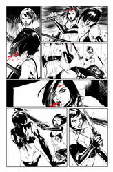 Hack/Slash vs. Chaos! #3 page 13 by celor