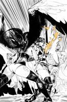 Hack/Slash vs. Chaos! #4 page 2 by celor