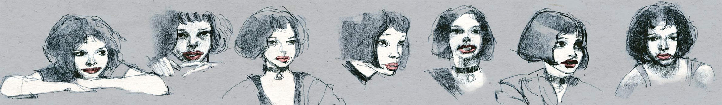 mathilda sketches by celor