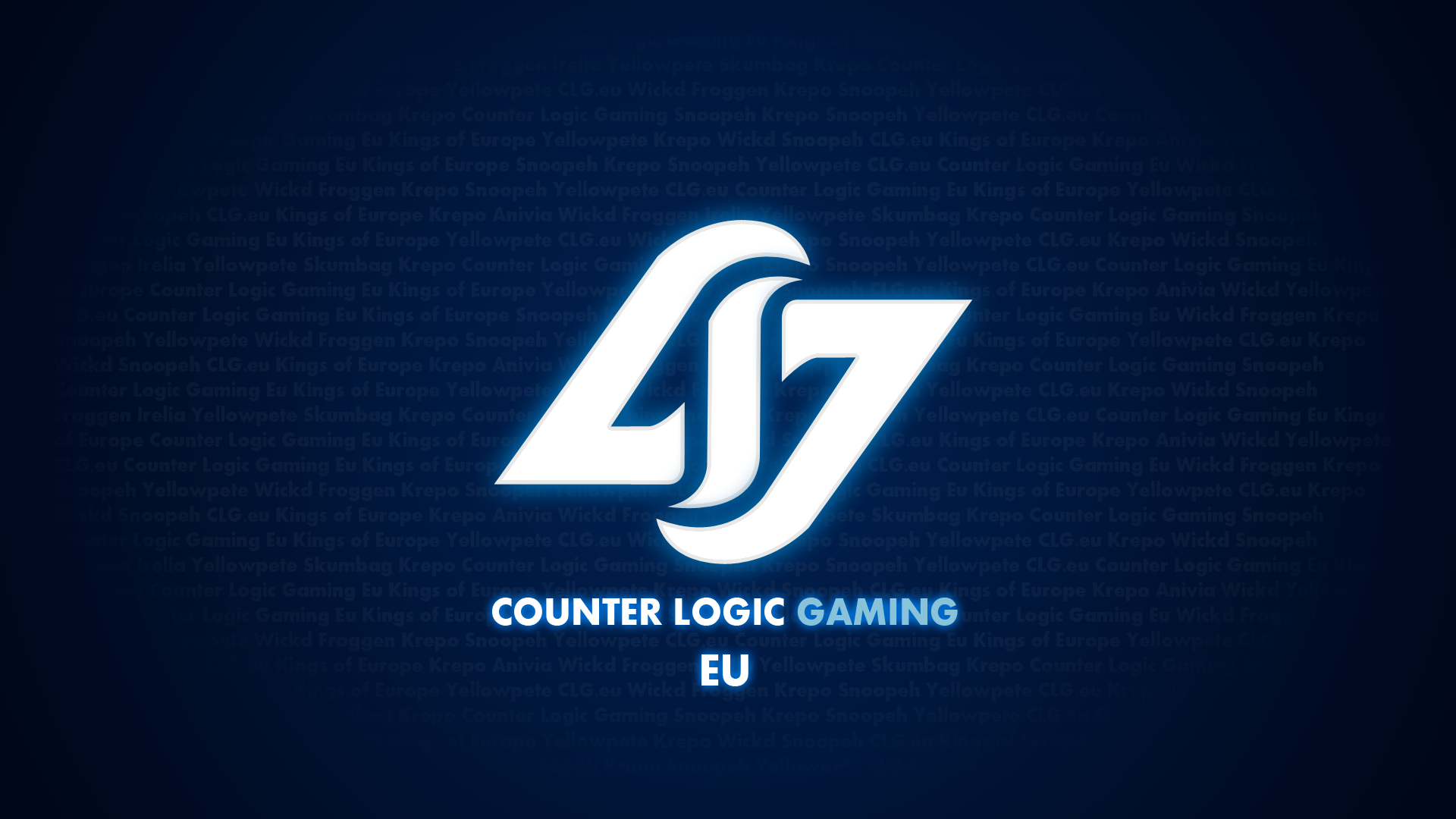 Counter Logic Gaming EU Wallpaper by ggeorgiev92