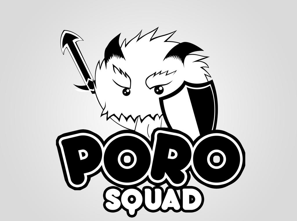 Poro Squad By Ggeorgiev92 Black Power Wallpaper