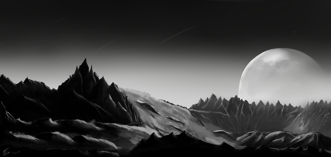 Moonscape by ggeorgiev92