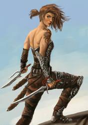 Warrior by DanAngelone