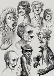 Doodles by DanAngelone