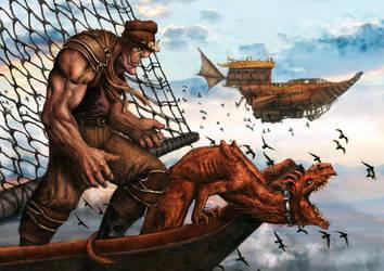 Smugglers Return by DanAngelone