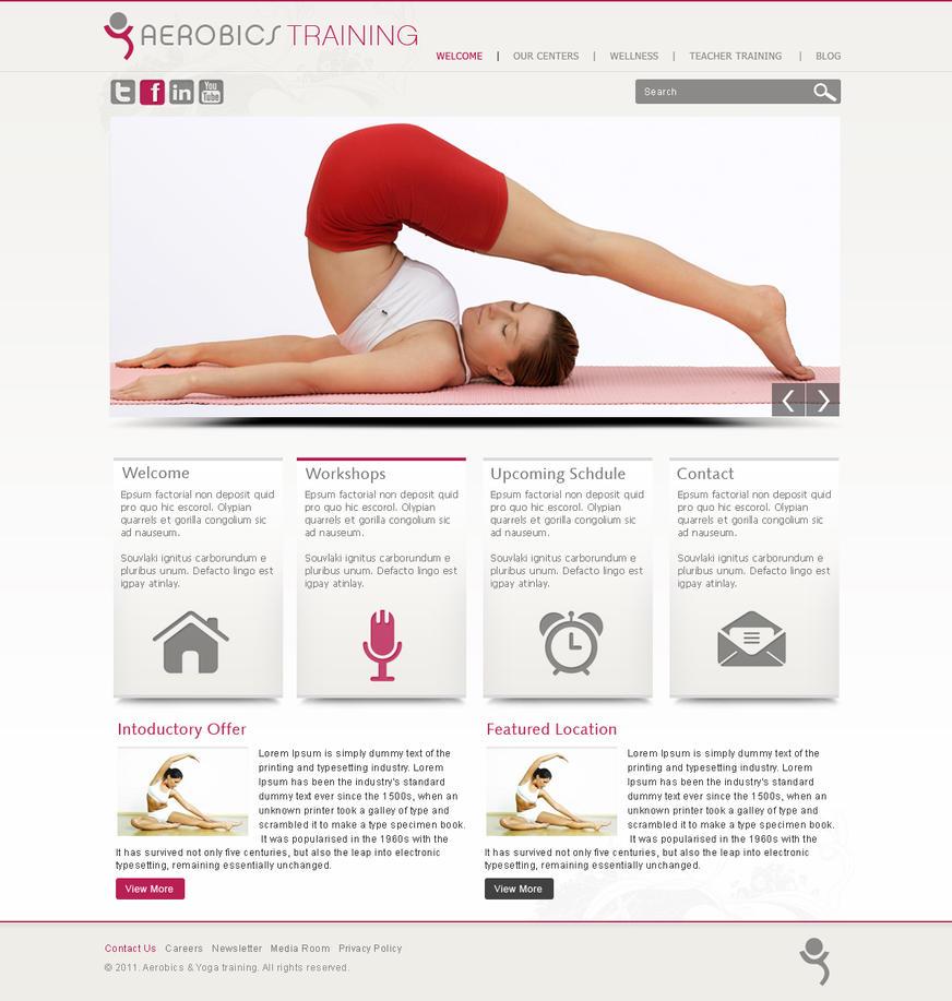 Yoga Website Template by gsingh8847 on DeviantArt