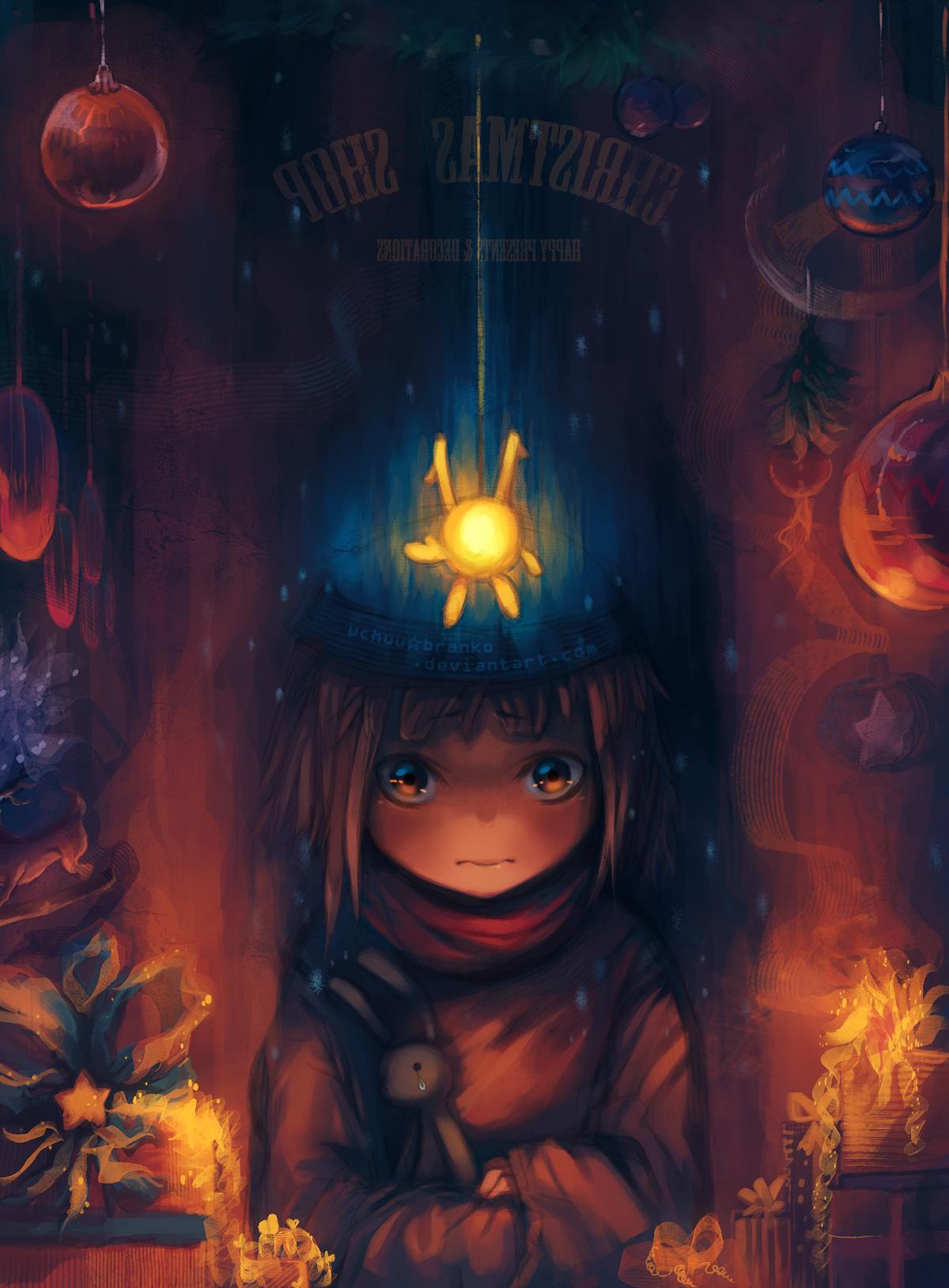 little glowing hopes by uchuubranko