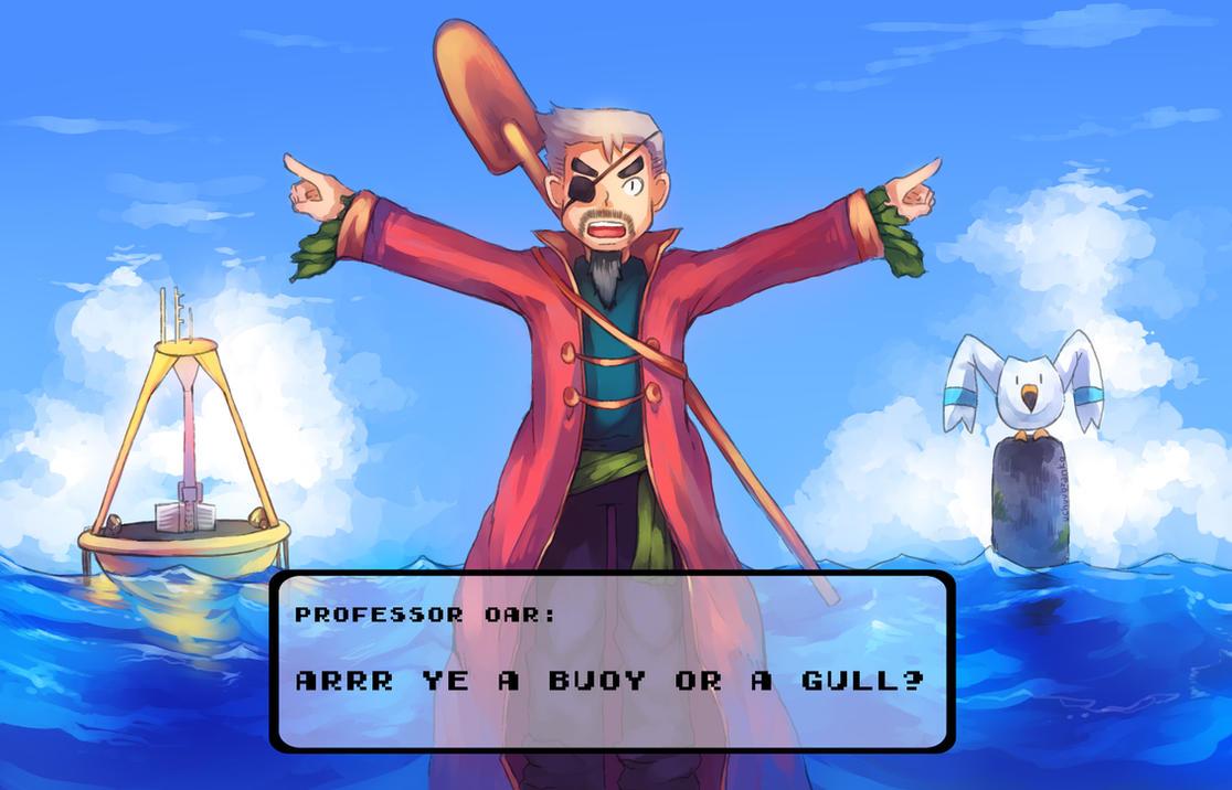 Professor Oar by uchuubranko