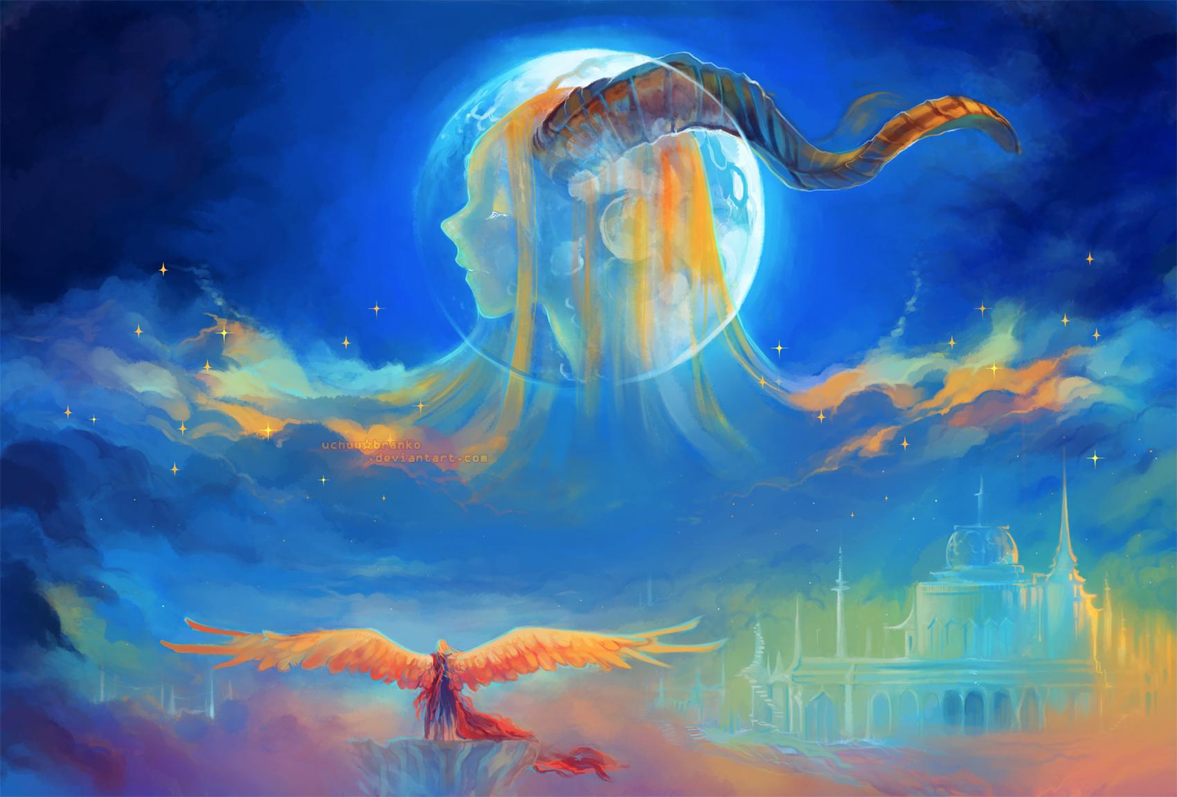 moon memory by uchuubranko