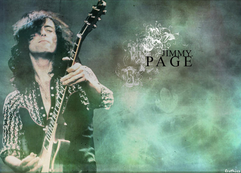 DeviantArt: More Like Jimmy Page Wallpaper by cynicxirony