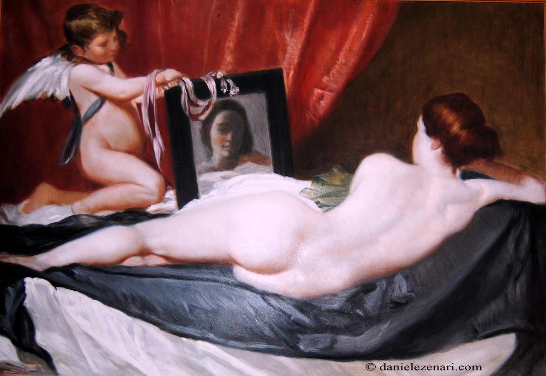 Venere allo specchio /  The Toilet of Venus by Nikonomane