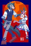 Beastars! : Haru and Legosi