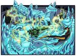 Lightning warrior by Sakamerel
